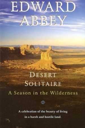 Reading books Desert Solitaire