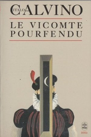 Reading books Le Vicomte pourfendu
