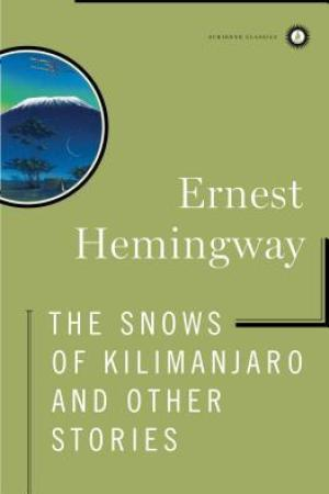 Reading books The Snows of Kilimanjaro and Other Stories