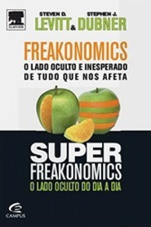 Reading books Freakonomics + Superfreakonomics