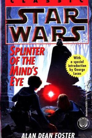 Reading books Splinter of the Mind's Eye (Star Wars)