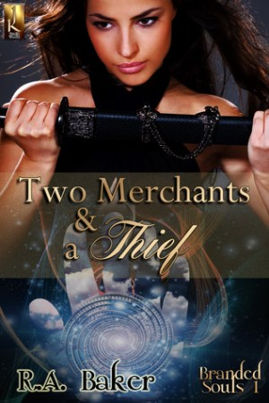 read online Two Merchants and a Thief (Branded Souls, #1)