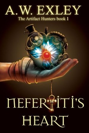 Reading books Nefertiti's Heart (Artifact Hunters, #1)