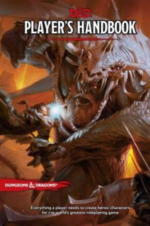 Reading books Player's Handbook (Dungeons & Dragons, 5th Edition)
