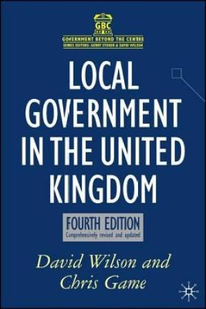 Reading books Local Government In The United Kingdom