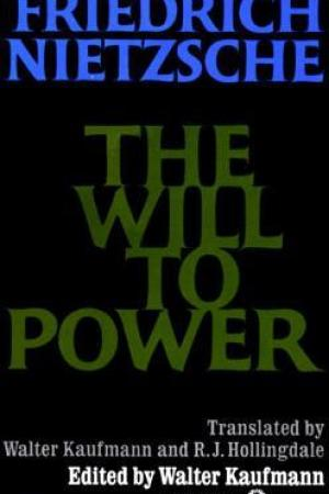 Reading books The Will to Power