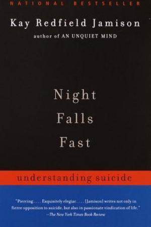 Reading books Night Falls Fast: Understanding Suicide
