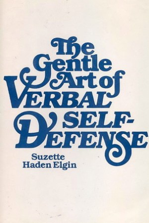 Reading books The Gentle Art of Verbal Self-Defense