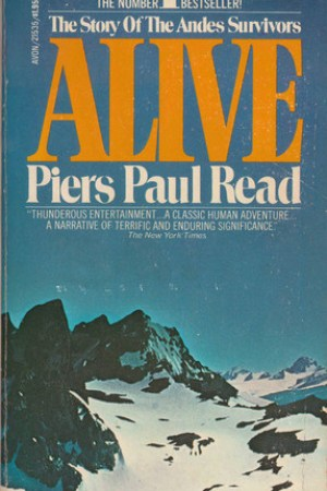 Reading books Alive: The Story of the Andes Survivors