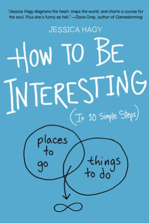 Reading books How to Be Interesting: An Instruction Manual