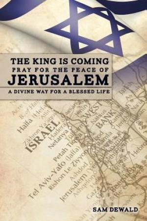 Reading books The King Is Coming Pray for the Peace of Jerusalem