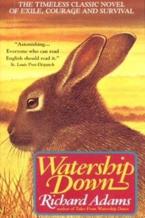 Reading books Watership Down (Watership Down, #1)