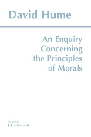 Reading books An Enquiry Concerning the Principles of Morals