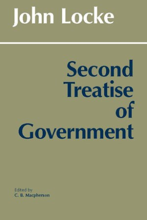 Reading books Second Treatise of Government
