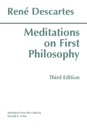 Reading books Meditations on First Philosophy