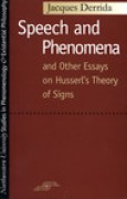 Download Speech and Phenomena and Other Essays on Husserl's Theory of Signs pdf / epub books