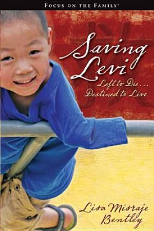 Reading books Saving Levi: Left to Die, Destined to Live