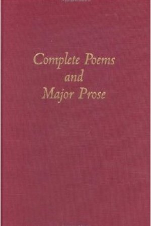 Reading books The Complete Poems and Major Prose