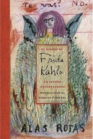 Reading books The Diary of Frida Kahlo: An Intimate Self-Portrait