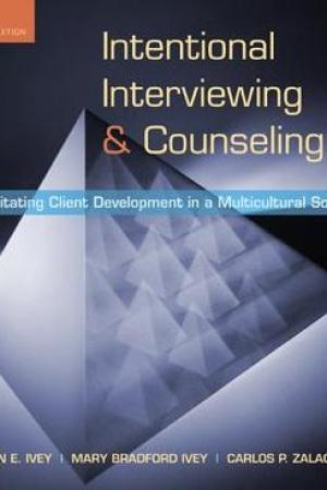 Reading books Intentional Interviewing and Counseling: Facilitating Client Development in a Multicultural Society