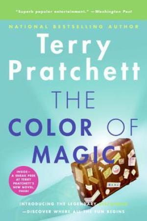 Reading books The Color of Magic (Discworld, #1; Rincewind #1)