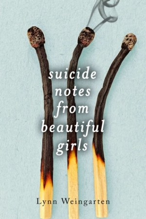 Reading books Suicide Notes from Beautiful Girls