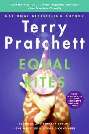 Reading books Equal Rites (Discworld, #3; Witches #1)