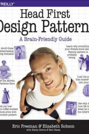 Reading books Head First Design Patterns: A Brain-Friendly Guide