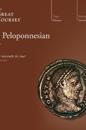 Reading books Peloponnesian War (The Great Courses)