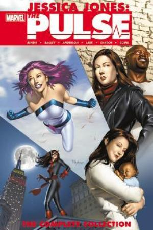 Reading books Jessica Jones: The Pulse: The Complete Collection