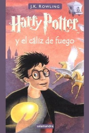 Reading books Harry Potter y el cliz de fuego (Harry Potter, #4)