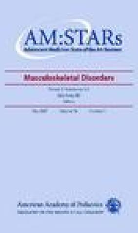 Am: Stars Musculoskeletal Disorders: Adolescent Medicine: State of the Art Reviews, Vol. 18, No. 1