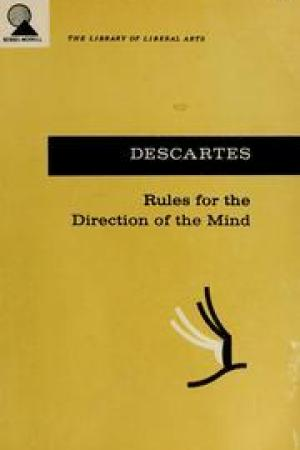 Rules for the Direction of the Mind