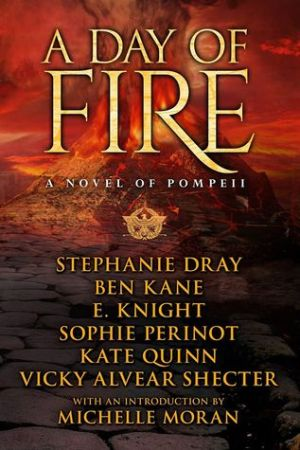 Reading books A Day of Fire: A Novel of Pompeii
