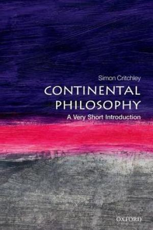 Reading books Continental Philosophy: A Very Short Introduction