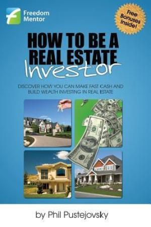Reading books How to Be a Real Estate Investor