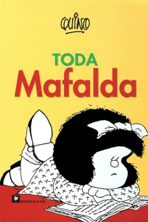 Reading books Toda Mafalda