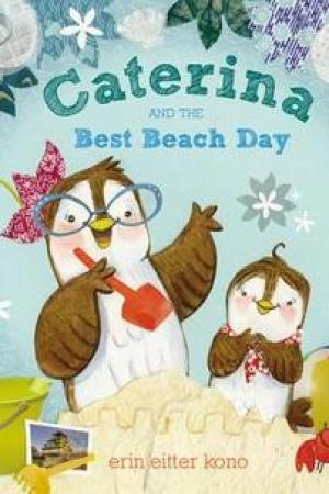 Reading books Caterina and the Best Beach Day