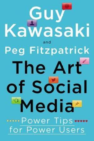 Reading books The Art of Social Media: Power Tips for Power Users