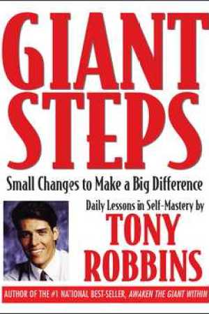 Reading books Giant Steps: Small Changes to Make a Big Difference