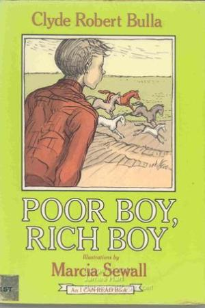 Reading books Poor Boy, Rich Boy