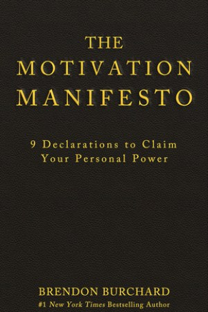 Reading books The Motivation Manifesto