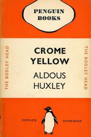 Reading books Crome Yellow