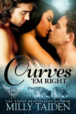 Reading books Curves 'em Right (Paranormal Dating Agency, #4)