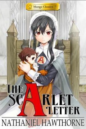 Reading books Manga Classics: The Scarlet Letter