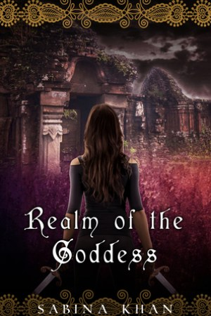 Reading books Realm of the Goddess