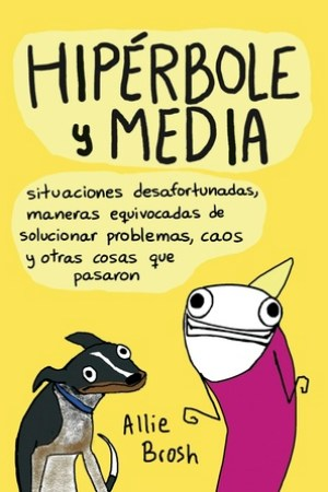 Reading books Hiprbole y media