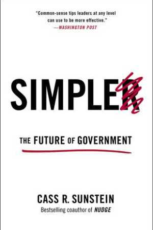 Reading books Simpler: The Future of Government