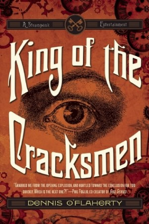 Reading books King of the Cracksmen: A Steampunk Entertainment