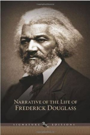Reading books Narrative of the Life of Frederick Douglass, an American Slave; and Selected Essays and Speeches